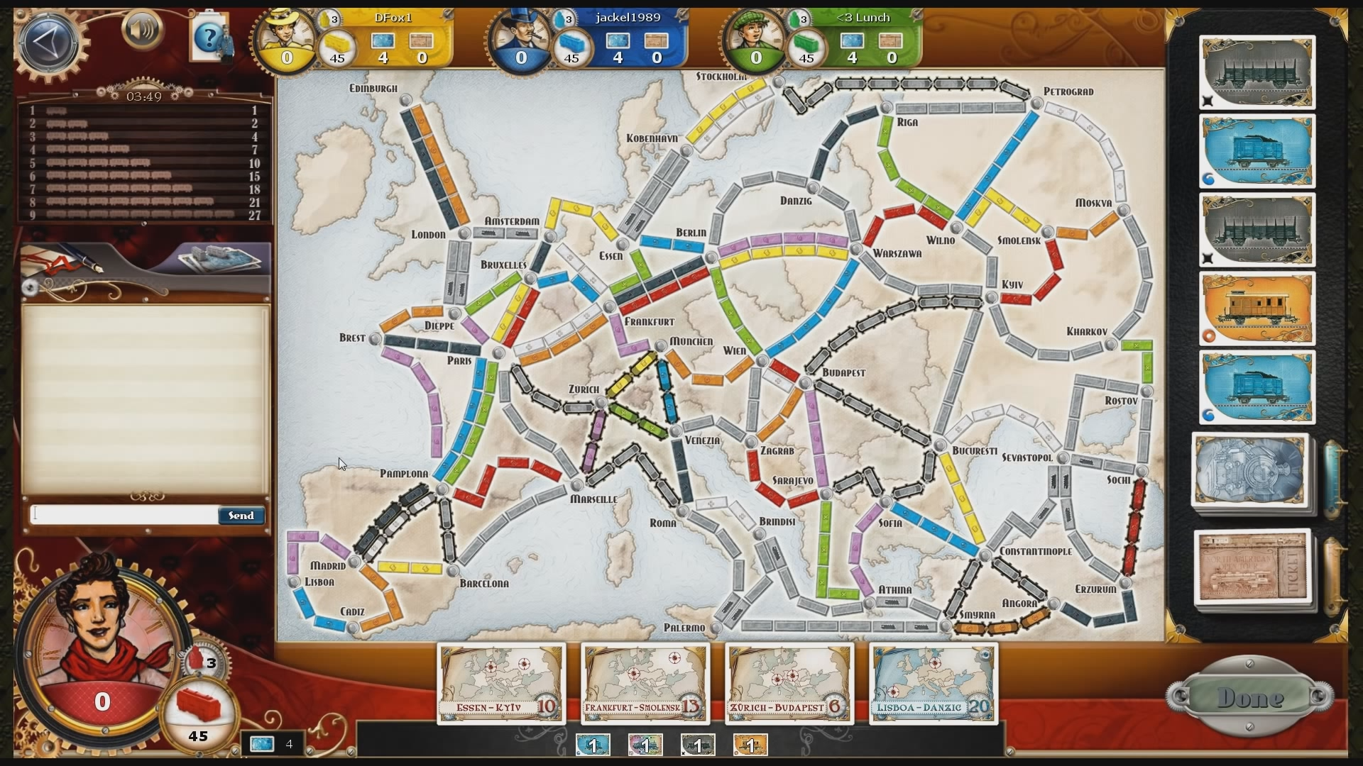 ticket to ride feat