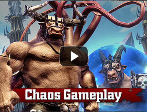 Let's get ready to FUMBLE! Bloodbowl 2 Chaos Gameplay