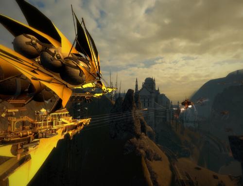 Guns of Icarus Alliance is Cruising Along